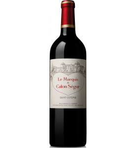 Le Marquis de Calon Segur, 2nd wine of Ch. Calon Segur