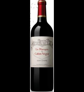 Le Marquis de Calon Segur, 2nd wine of Ch. Calon Segur