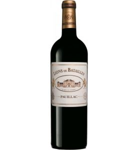 Lions de Batailley, 2nd wine of Ch. Batailley, 2014